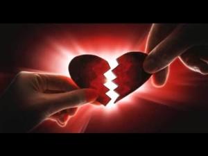 сердце пополам