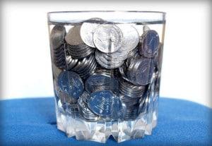 Деньги в воде