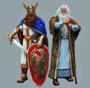 Велес и Перун
