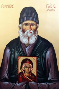 Паисий и Богородица
