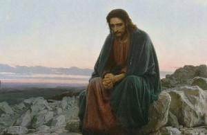 Иисус в пустыне