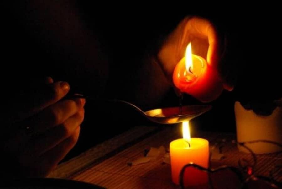Свечи и огонь