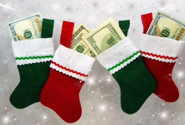 Деньги в носке