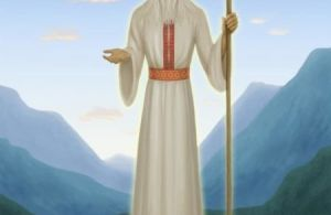 Белобог- славянское божество, покровитель и защитник трудолюбивых и добрых людей. Символ Белобога защитит взрослых и детей.