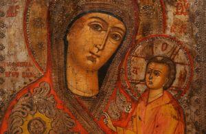 Тихвинская чудотворная икона Божией Матери