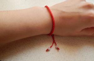 Браслет из красной нити – создаем мощный оберег самостоятельно