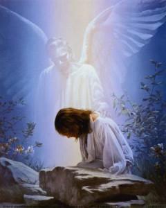 ангел и человек