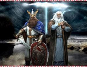 Перун и Велес