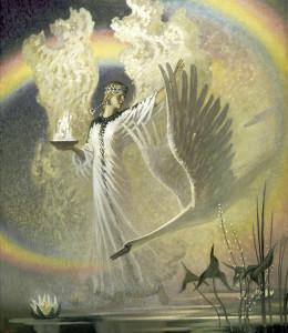 Богиня лебедь