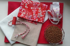 Ткань и зерно