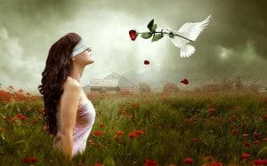 девушка и ангел