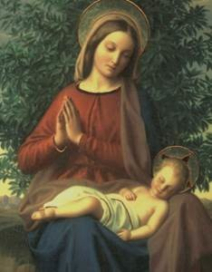 Богородица и малыш