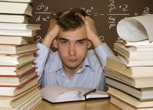 Ученик в книгах