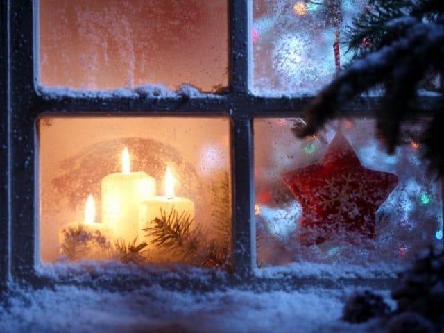 Новый год в окне