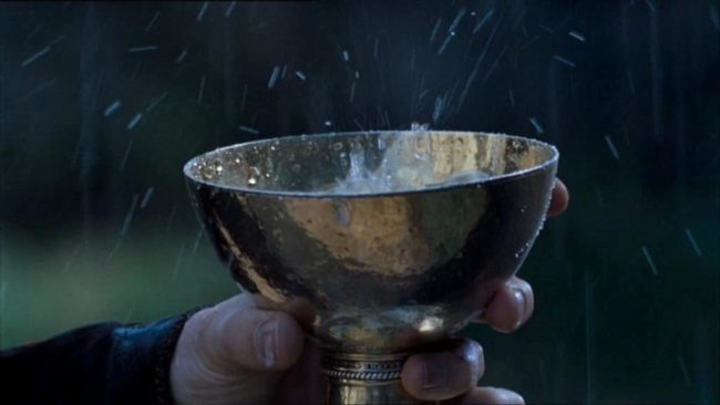 Чаша со святой водой