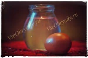 диагностируем порчу яйцом